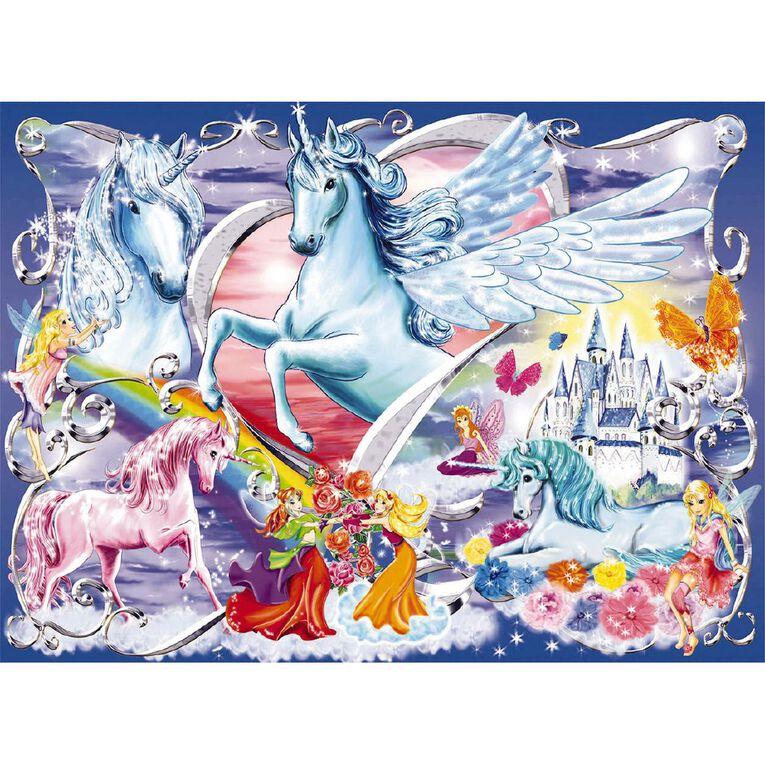 Ravensburger Amazing Unicorns Puzzle Glitter 100 Piece, , hi-res