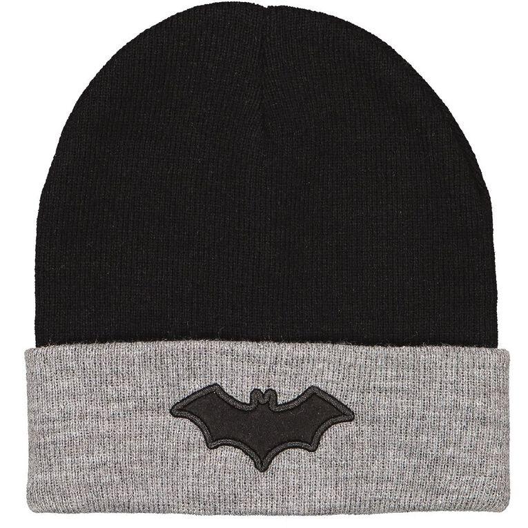 Batman Men's Beanie, Black, hi-res