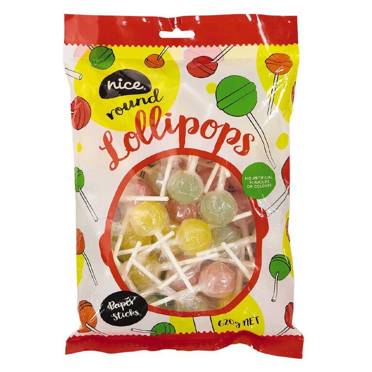 Nice Round Lollipops 620g, , hi-res