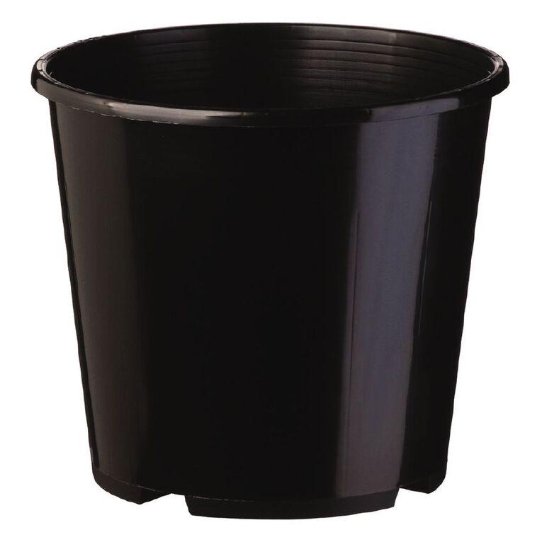 IP Plastics Planter Pot 27cm Black 8.5L, , hi-res
