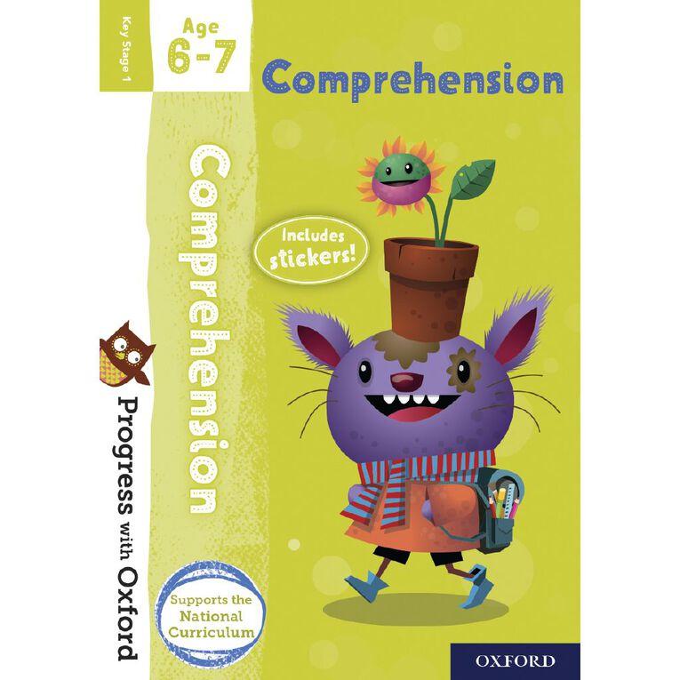 Comprehension Age 6-7 by Oxford University Press, , hi-res
