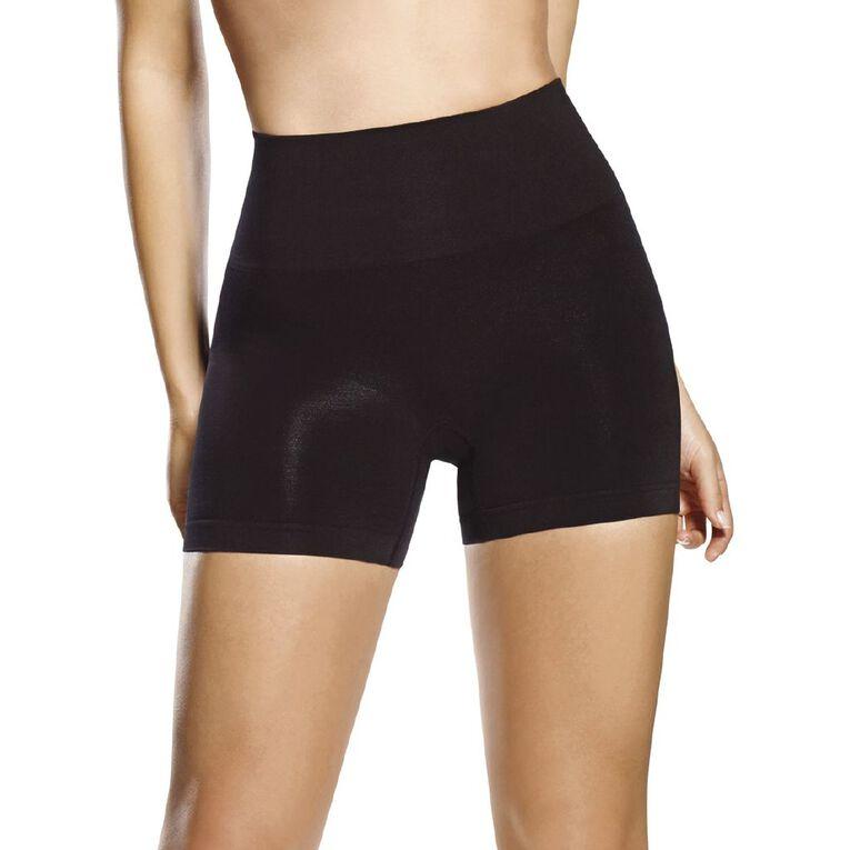 Clio Shaping Midi Shorts, Black, hi-res
