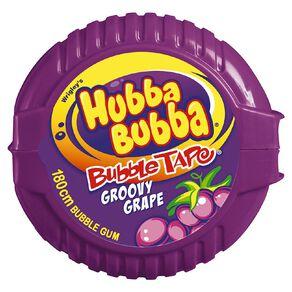 Hubba Bubba Groovy Grape Bubble Gum Tape 180cm