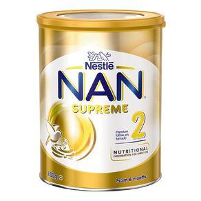 Nestle NAN Supreme Follow-On Formula Stage 2 800g Net
