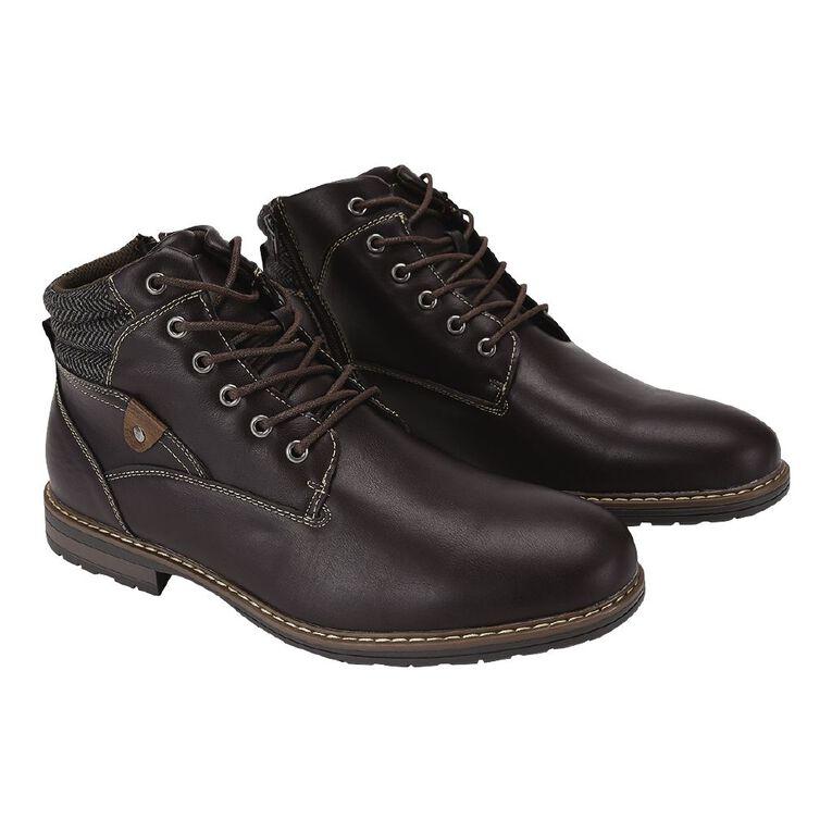 H&H Danny Boots, Brown Mid, hi-res