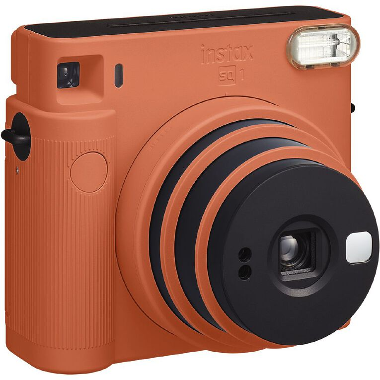 Fujifilm Instax SQ1 Instant Camera Teracotta Orange, , hi-res
