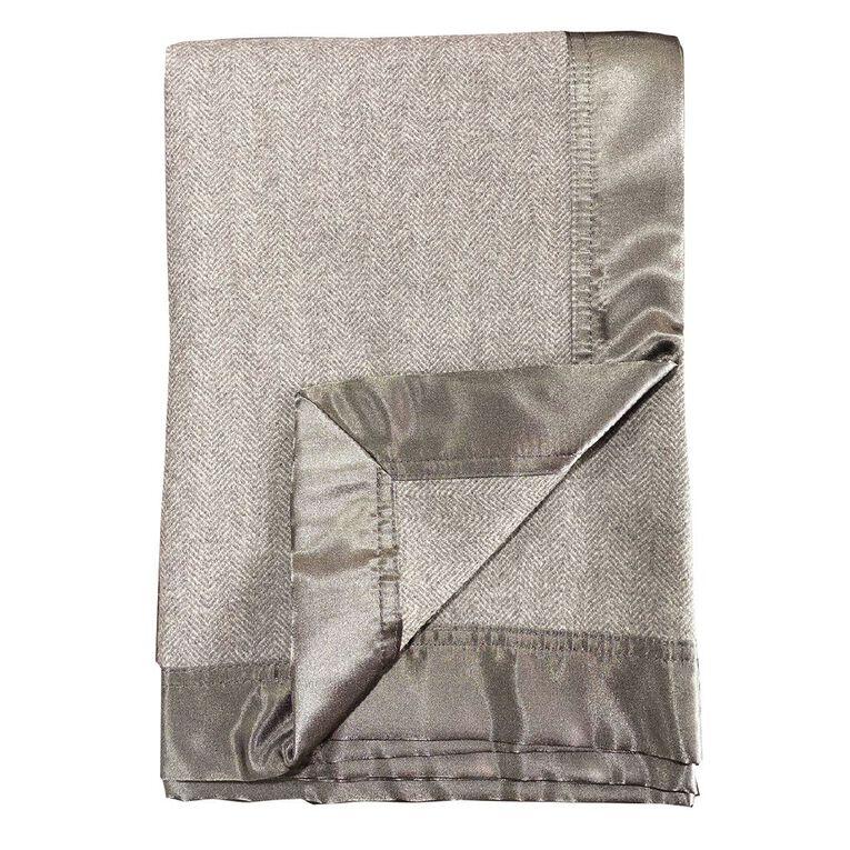 Babywise Merino Wool Cot Blanket, , hi-res