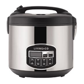 Living & Co Rice Cooker Digtal 10 Cup