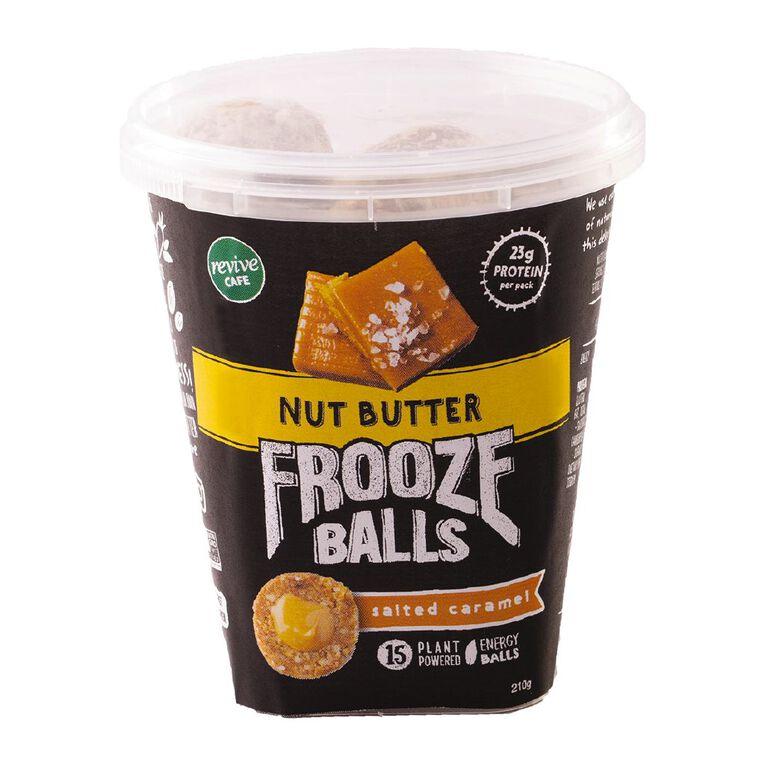 Frooze Balls Salted Caramel Pottle 210g, , hi-res