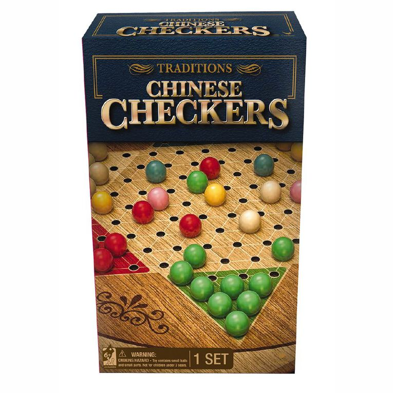 Red Bird Traditions Chinese Checkers Game, , hi-res