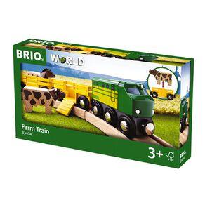 Brio Farm Train 5 Pieces