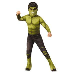 Marvel Hulk Classic Costume Child Size 6-8