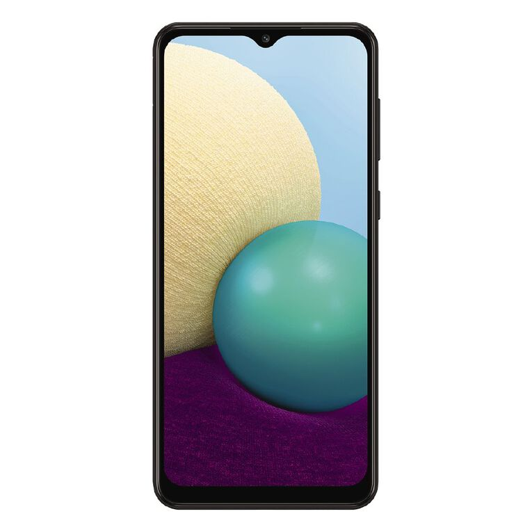2degrees Samsung A02 32GB 4G Black Bundle, , hi-res