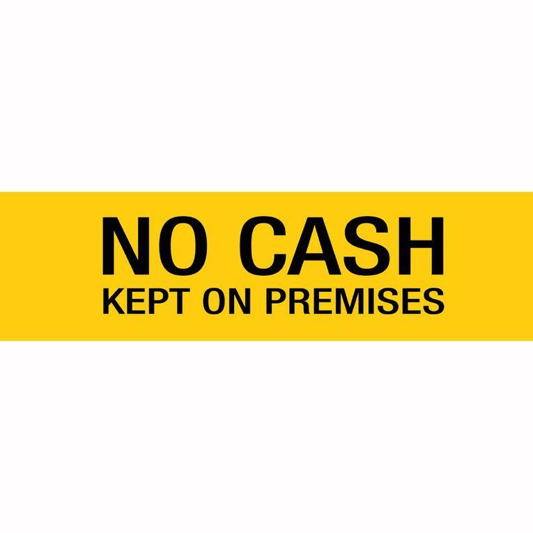 APLI Self Adhesive No Cash Black, , hi-res