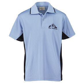 Schooltex Pukekohe Hill New Short Sleeve Polo with Embroidery