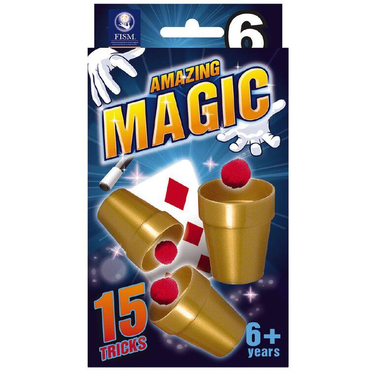 Amazing Magic 15 Tricks Assortment, , hi-res