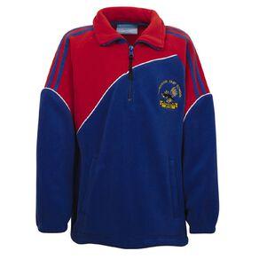 Schooltex Papatoetoe East Polar Fleece 1/4 Zip Jacket