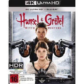 Hansel & Gretel Witch Hunters 4K Blu-ray 2Disc