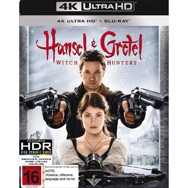 Hansel & Gretel Witch Hunters 4K Blu-ray 2Disc, , hi-res