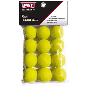 PGF Foam Balls 12 Pack