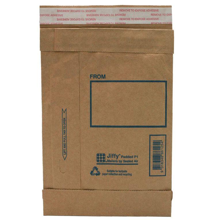 Jiffy Padded Mailer P7 Manilla 360 x 480mm, , hi-res