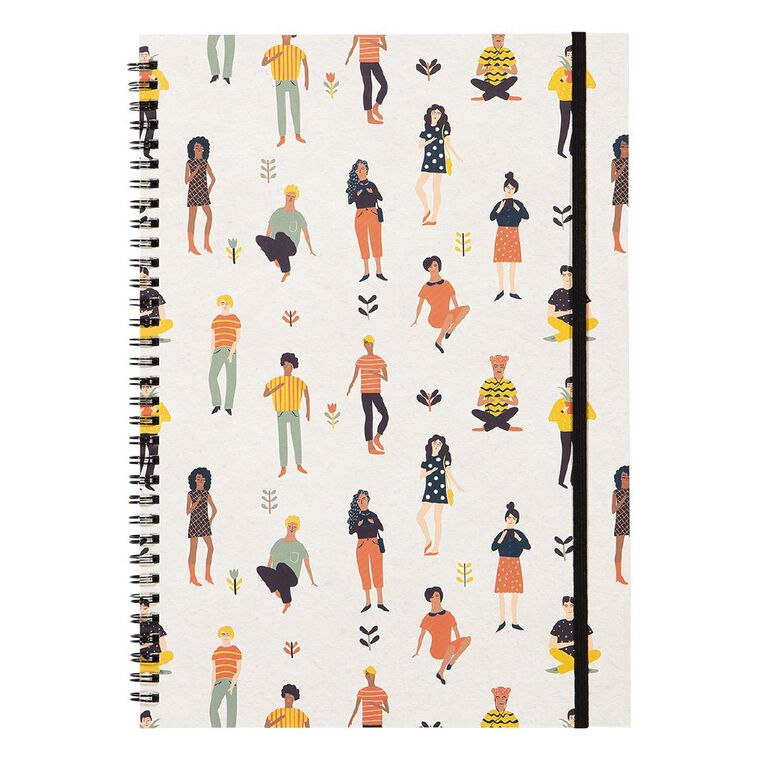 Uniti Empowerment People Softcover Notebook White A4, , hi-res