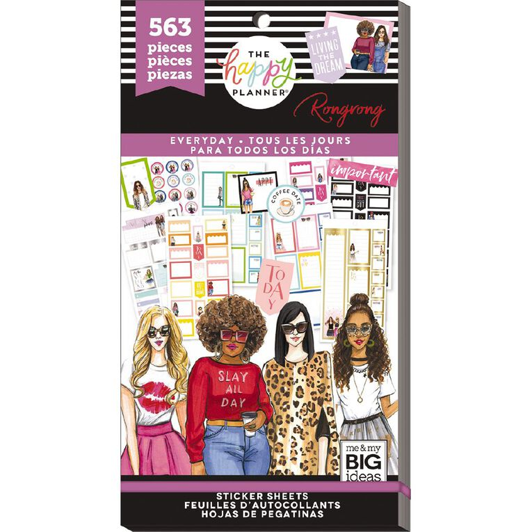 Me & My Big Ideas Sticker Book Everyday, , hi-res