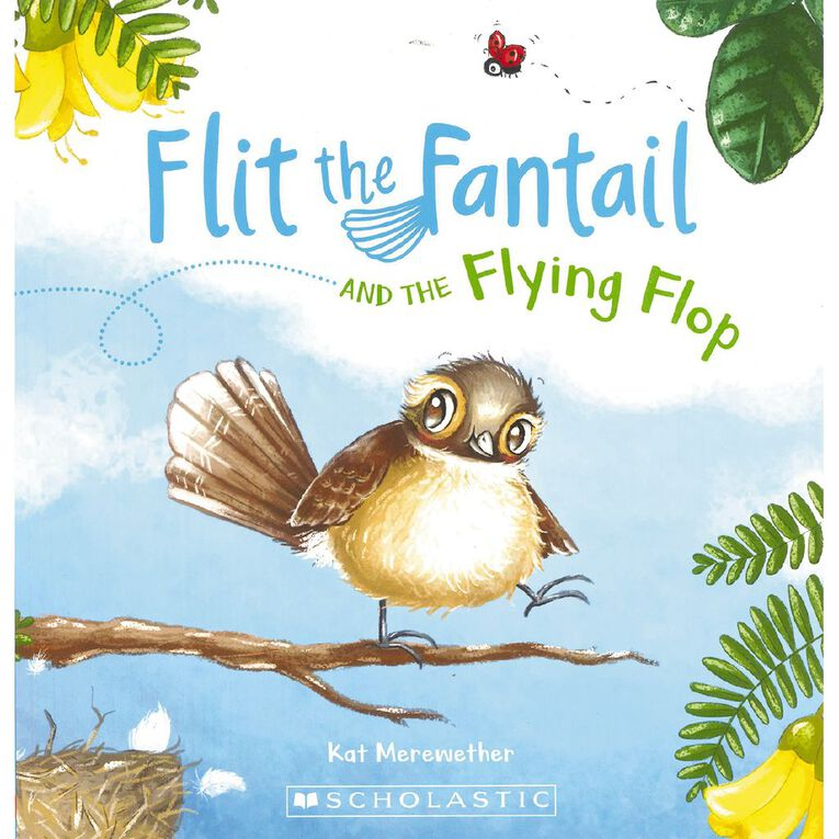 Flit the Fantail #1 The Flying Flop by Kat Merewether, , hi-res