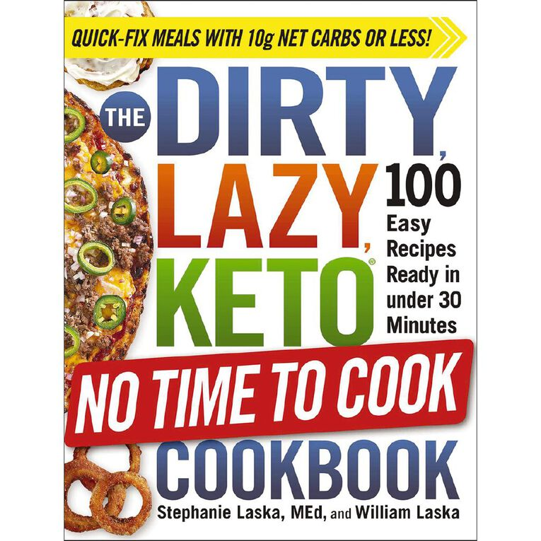 The Dirty Lazy Keto No Time to Cook Cookbook, , hi-res image number null