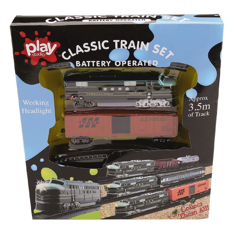 Play Studio Train Set with Head Light Assorted, , hi-res