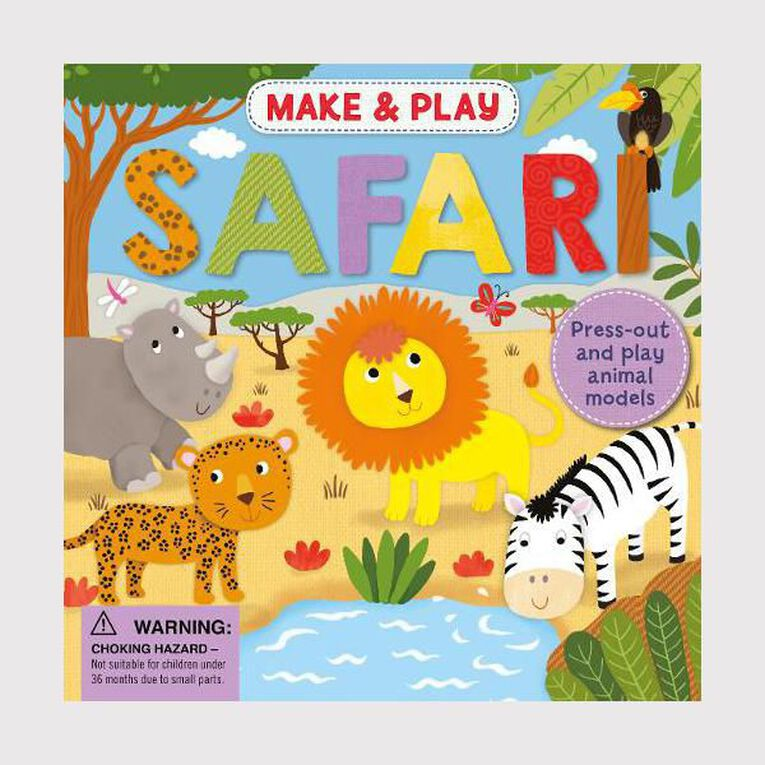 Make & Play Safari by Noopur Thakur, , hi-res