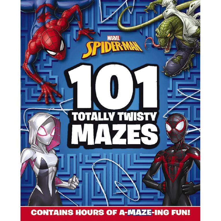 Marvel Spider-Man: 101 Totally Twisty Mazes, , hi-res