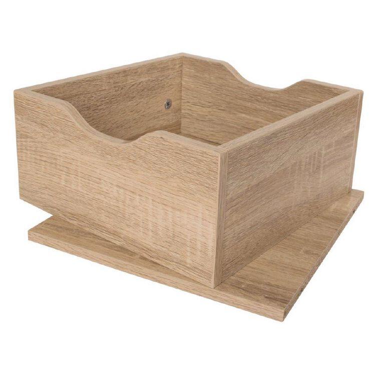 Living & Co Valencia Cube Storage Drawer Insert Oak, , hi-res