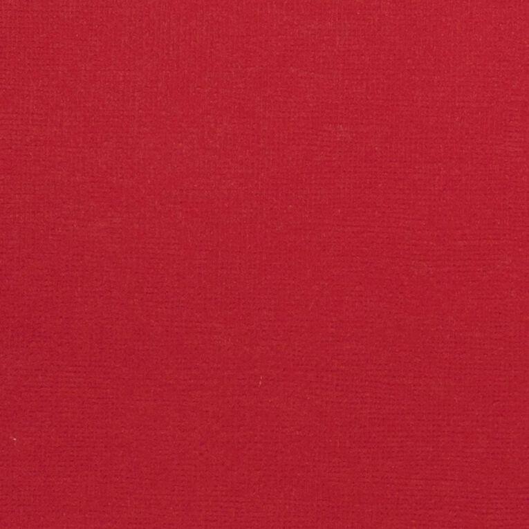 American Crafts Cardstock Textured Crimson 12in x 12in, , hi-res