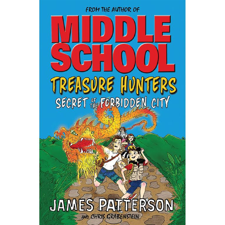 Treasure Hunters #3 Secret of the Forbidden City by James Patterson, , hi-res