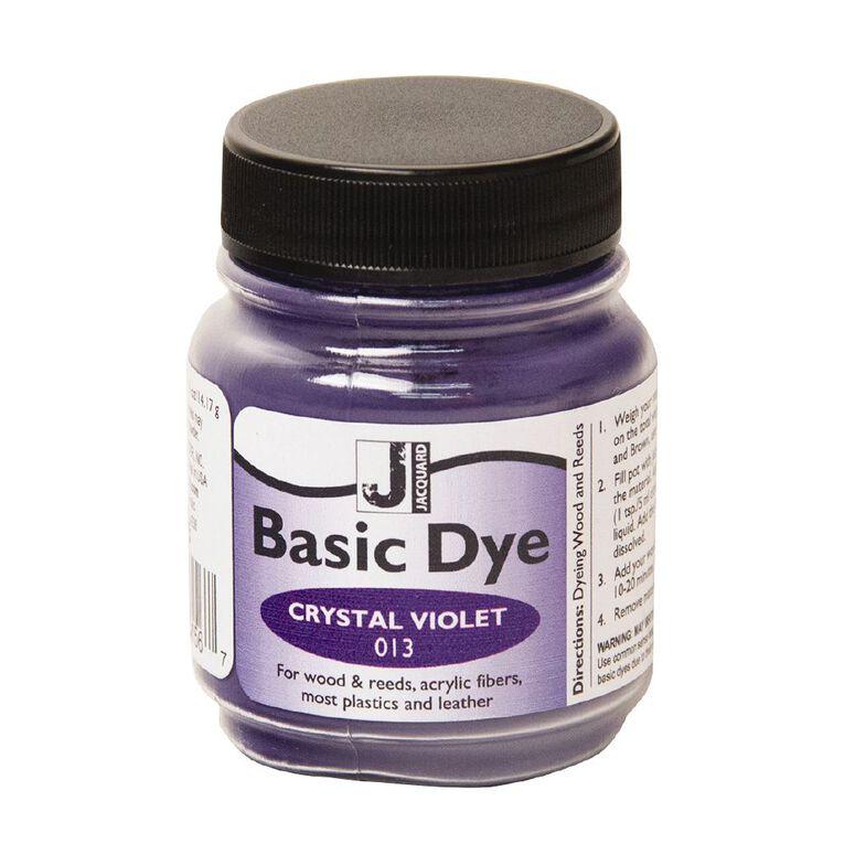 Jacquard Basic Dye 14.17g Crystal Violet, , hi-res