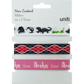 Uniti New Zealand Ribbon 3pc