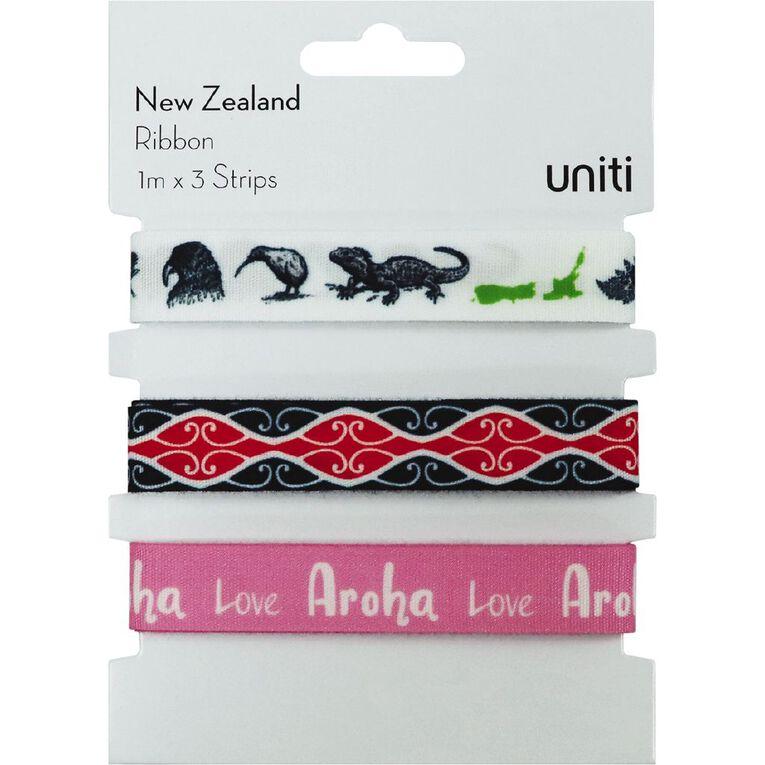 Uniti New Zealand Ribbon 3pc, , hi-res