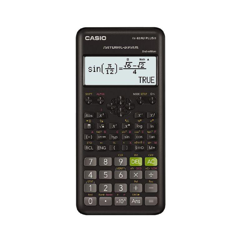 Casio FX82AUPLUSII2 Scientific Calculator, , hi-res image number null