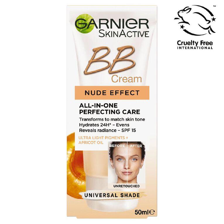 Garnier BB Cream Nude 50ml, , hi-res