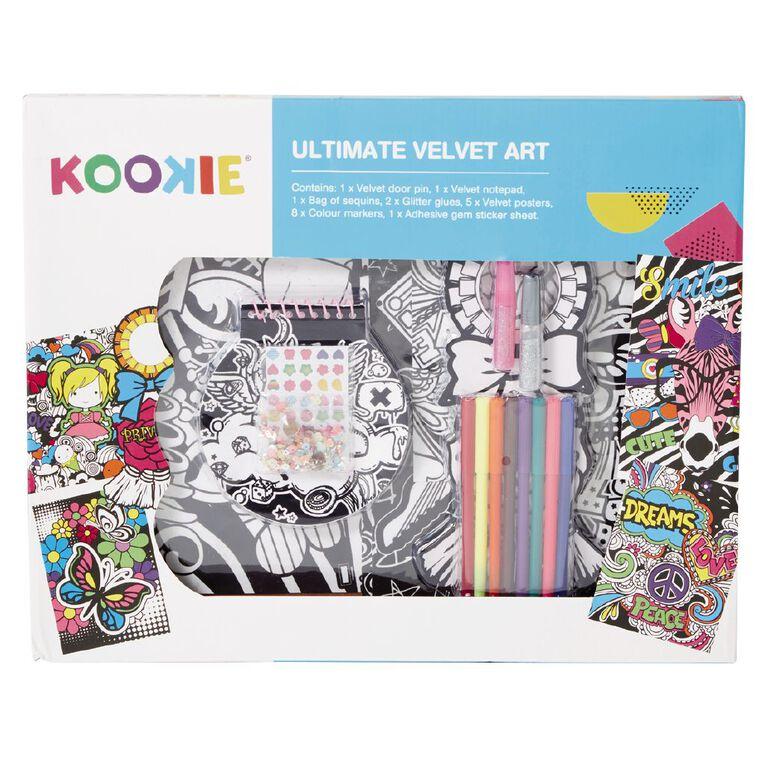 Kookie Ultimate Velvet Art 17 Pieces, , hi-res