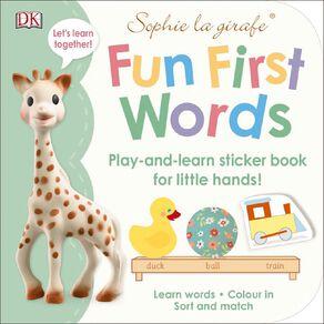 Sophie La Girafe: Fun First Words N/A