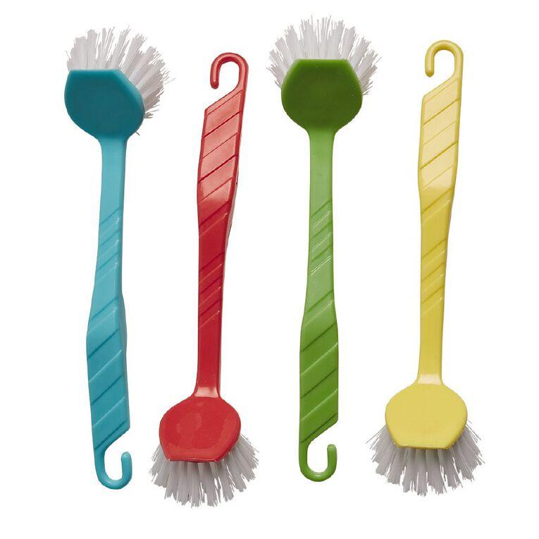 Living & Co Round Dish Brush Assorted, , hi-res