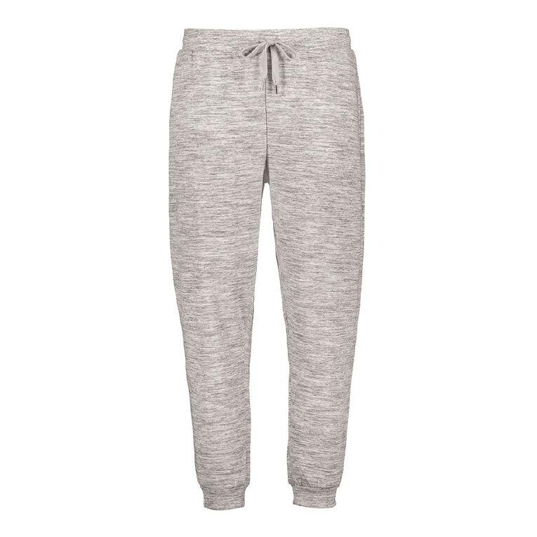 H&H Women's Cuffed Trackpants, Grey, hi-res