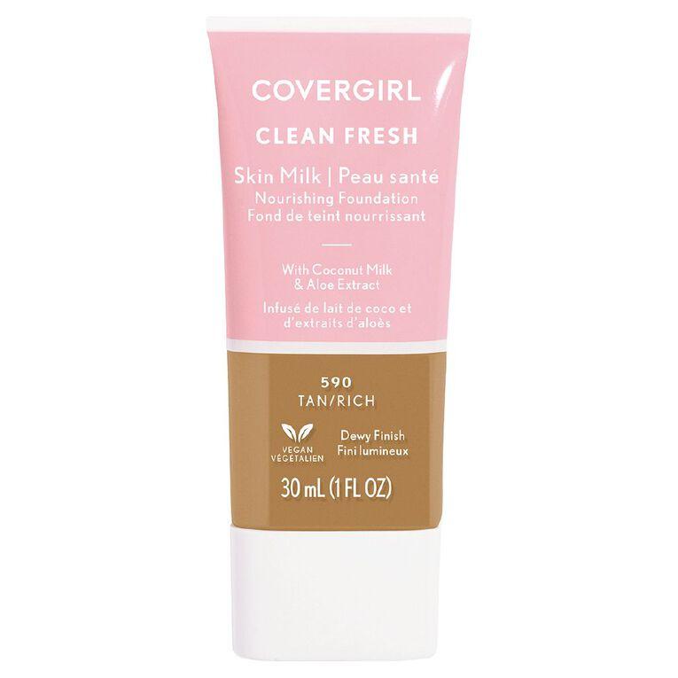 Covergirl Clean Fresh Skin Milk Tan/ Rich 590 30ml, , hi-res