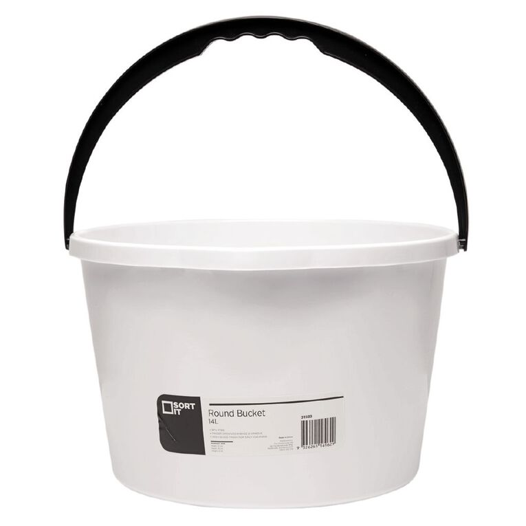 Living & Co Bucket Round Assorted 14L, , hi-res