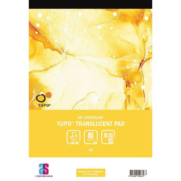Art Spectrum Yupo Pad 85g 10 Sheets A3, , hi-res