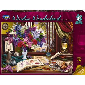 Window Wonderland 1000 Piece Puzzle Assorted
