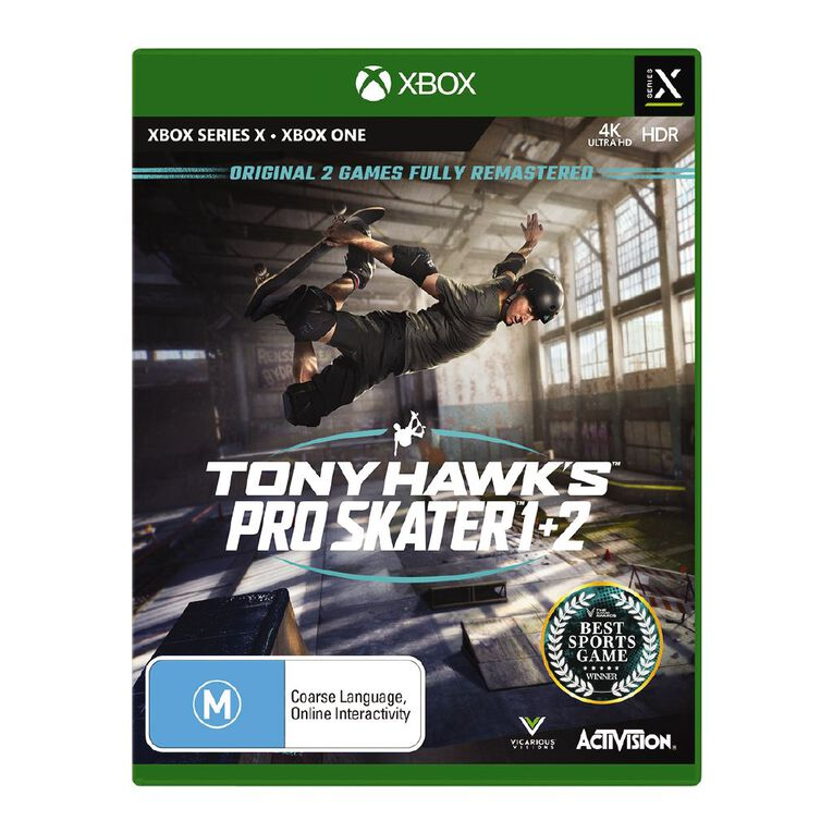Xbox Series X Tony Hawks Pro Skater 1 & 2, , hi-res
