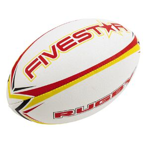 Fivestar Rugby Ball Assorted One Size